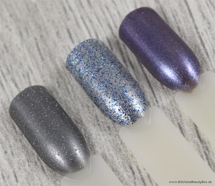 OPI - Is That Silva - Shine for Me - Amethyst or That