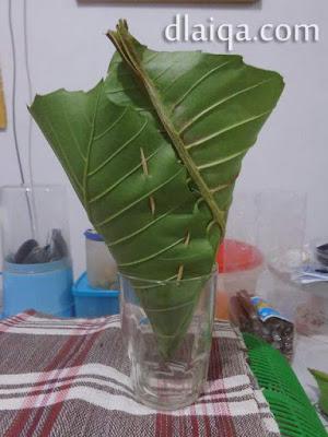 daun pembungkus sudah siap