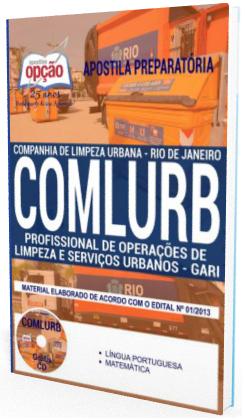 Apostila Companhia Municipal de Limpeza Urbana do Rio Janeiro - Comlurb RJ