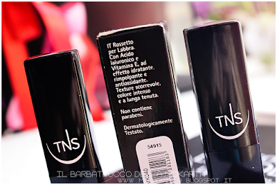 THE LIPSTICK COLLECTION - TNS COSMETICS