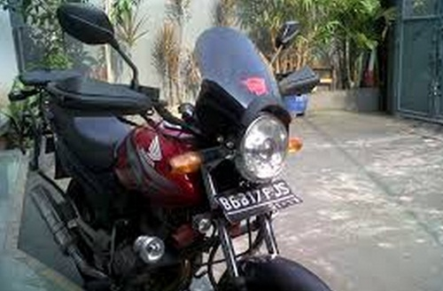 lampu tiger windshield