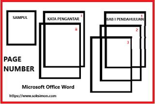 Cara Membuat Number Page Berbeda Di Setiap Halaman Microsoft Word 2010