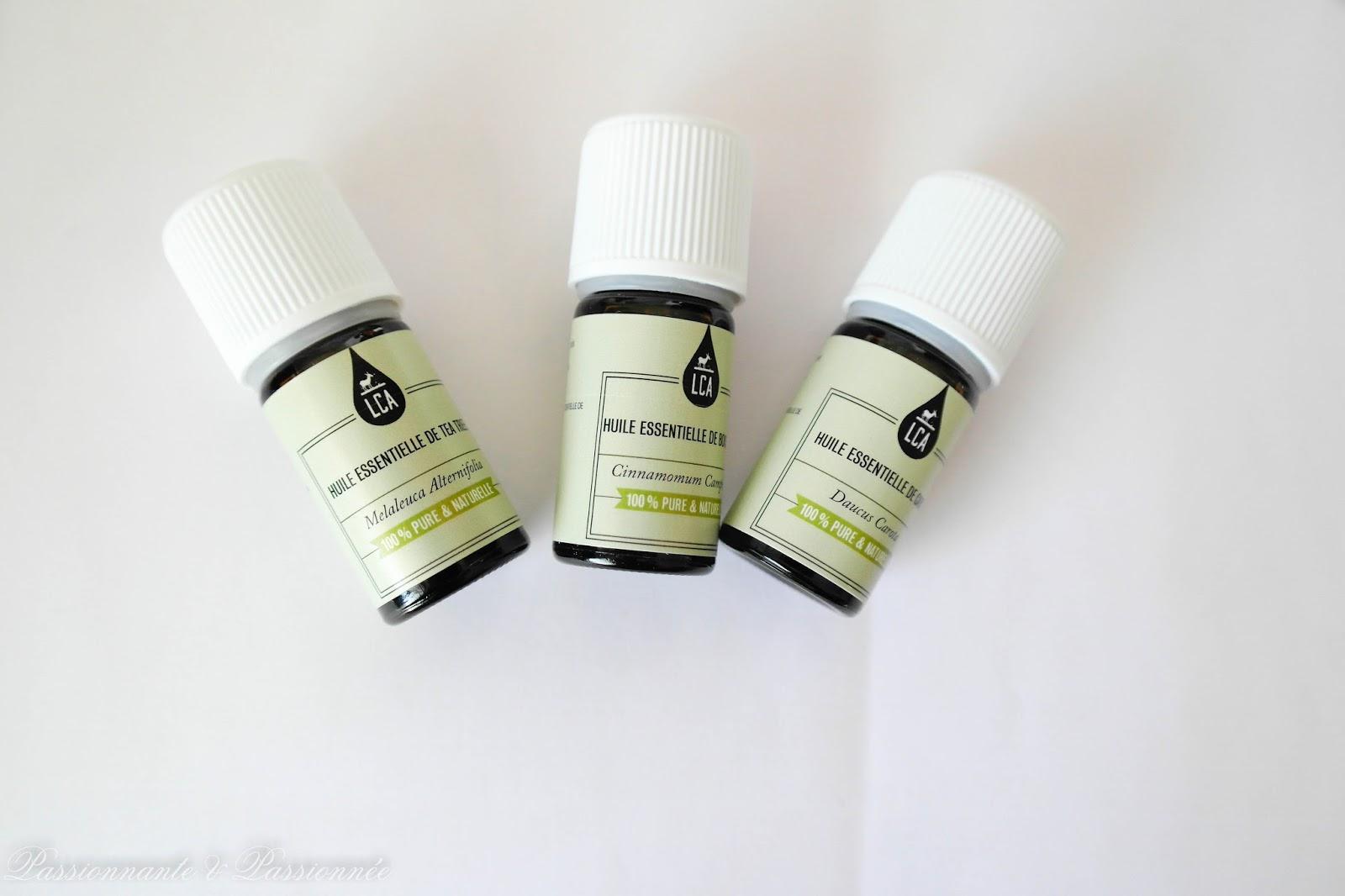 LCA huiles essentielles