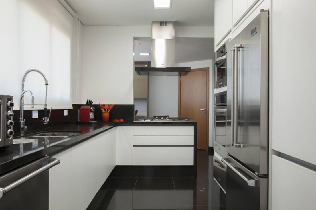 Modelos De Cozinha Preto E Branco