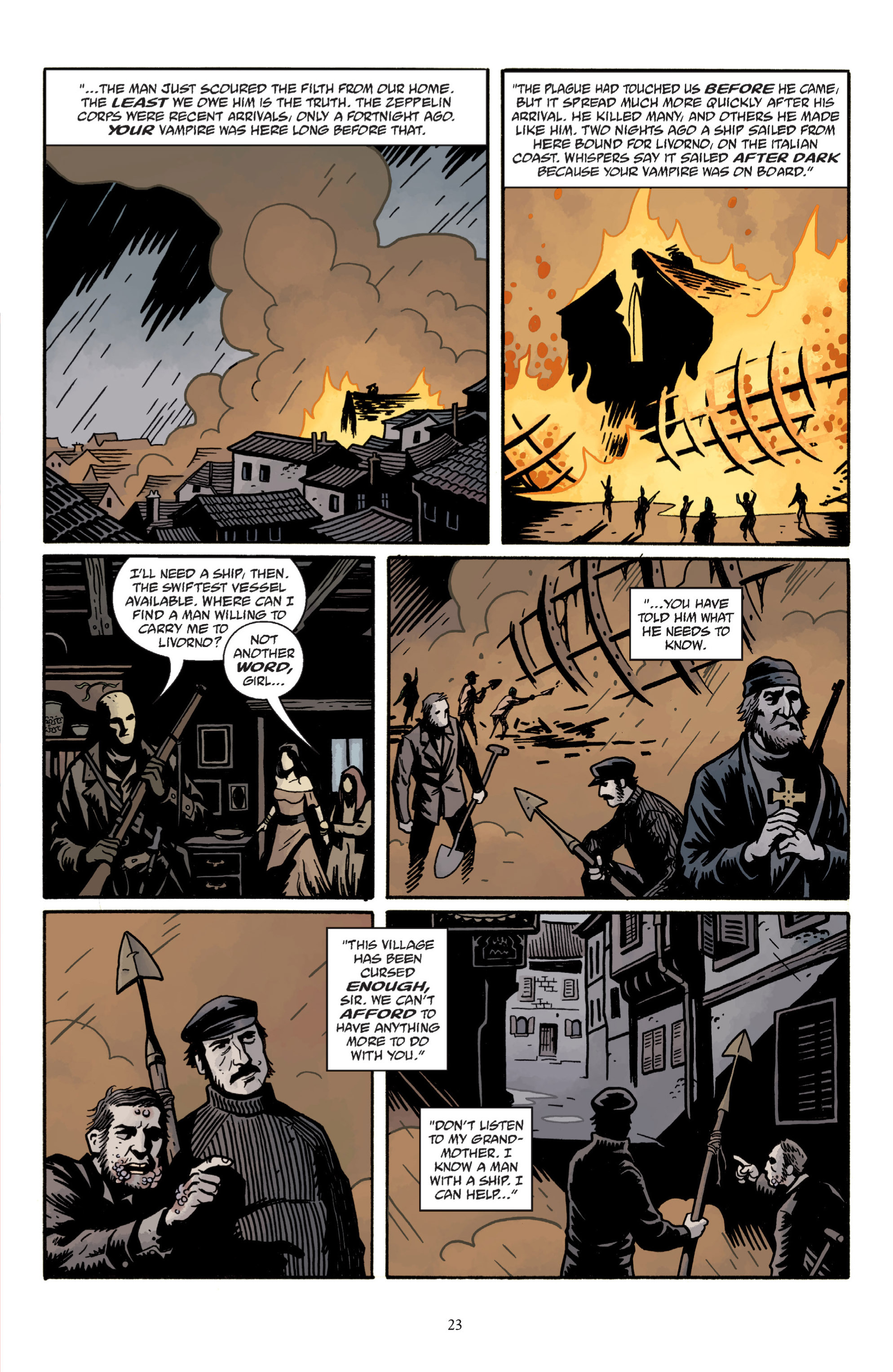 Read online Baltimore: The Plague Ships comic -  Issue # TPB - 25