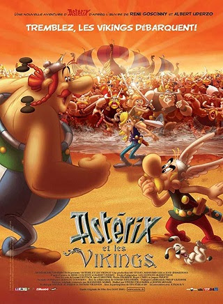 Poster Of Asterix and the Vikings In Dual Audio Hindi French 300MB Compressed Small Size Pc Movie Free Download Only At worldfree4u.com
