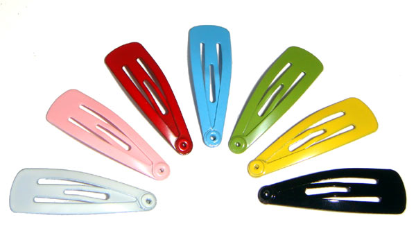 Snap Pins - Different Types of Hair Clips and Pins