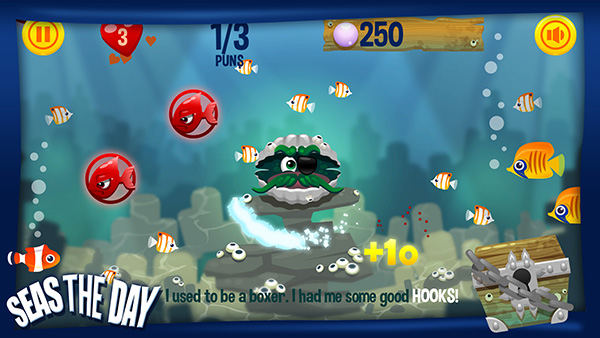 Seas The Day - mobile game for Android and iOS