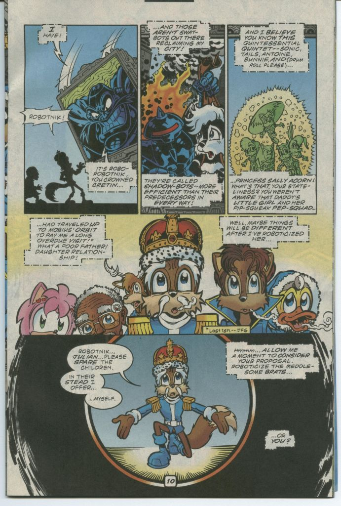 Read online Sonic The Hedgehog comic -  Issue #75 - 15