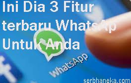 ii Dia 3 Fitur terbaru WhatsAp Untuk Anda 1