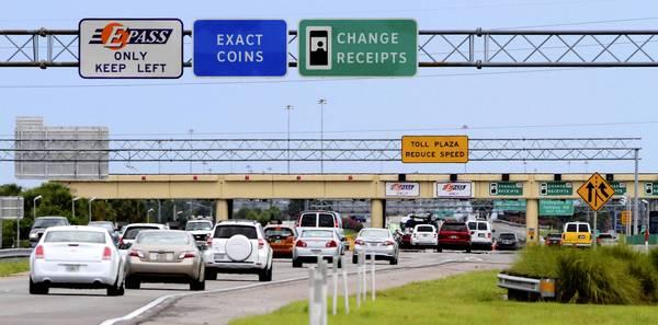 Peajes con un auto alquilado en Orlando