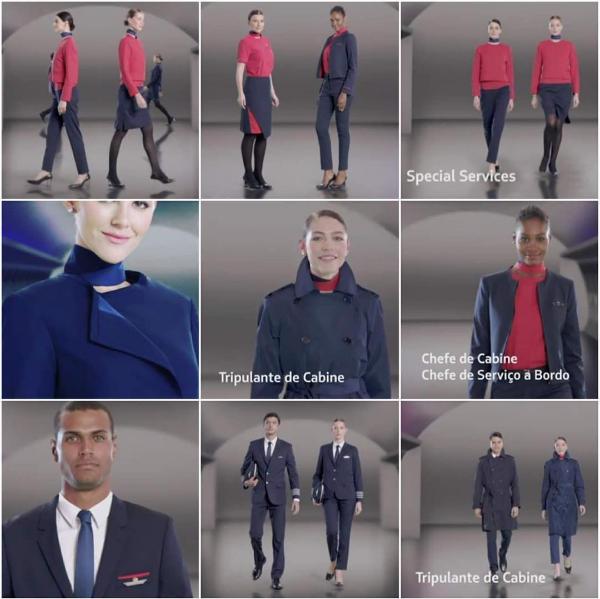 Abril 2016 – LATAM apresentou novos uniformes e pintura dos aviões