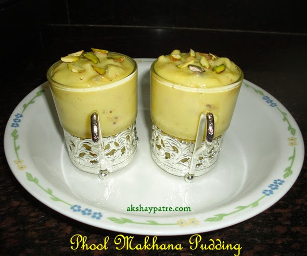 phool makhana kheer ready to serve