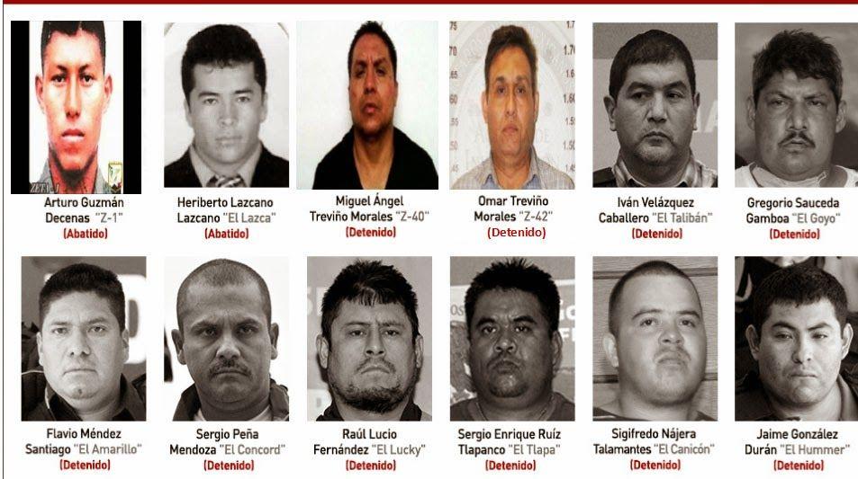 La extraña decadencia de Los Zetas, les acabó cobrando la factura