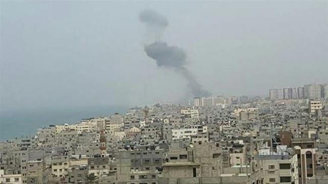 Israeli aircraft pound northern Gaza Strip