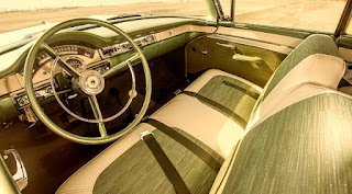 1957 Ford Fairlane 500 Dual Quad Interior