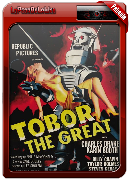 Tobor the Great (1954) [Clásico] BrRip 720p H264