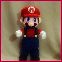 Mario amigurumi