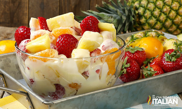 https://www.theslowroasteditalian.com/2017/06/pina-colada-cheesecake-salad.html