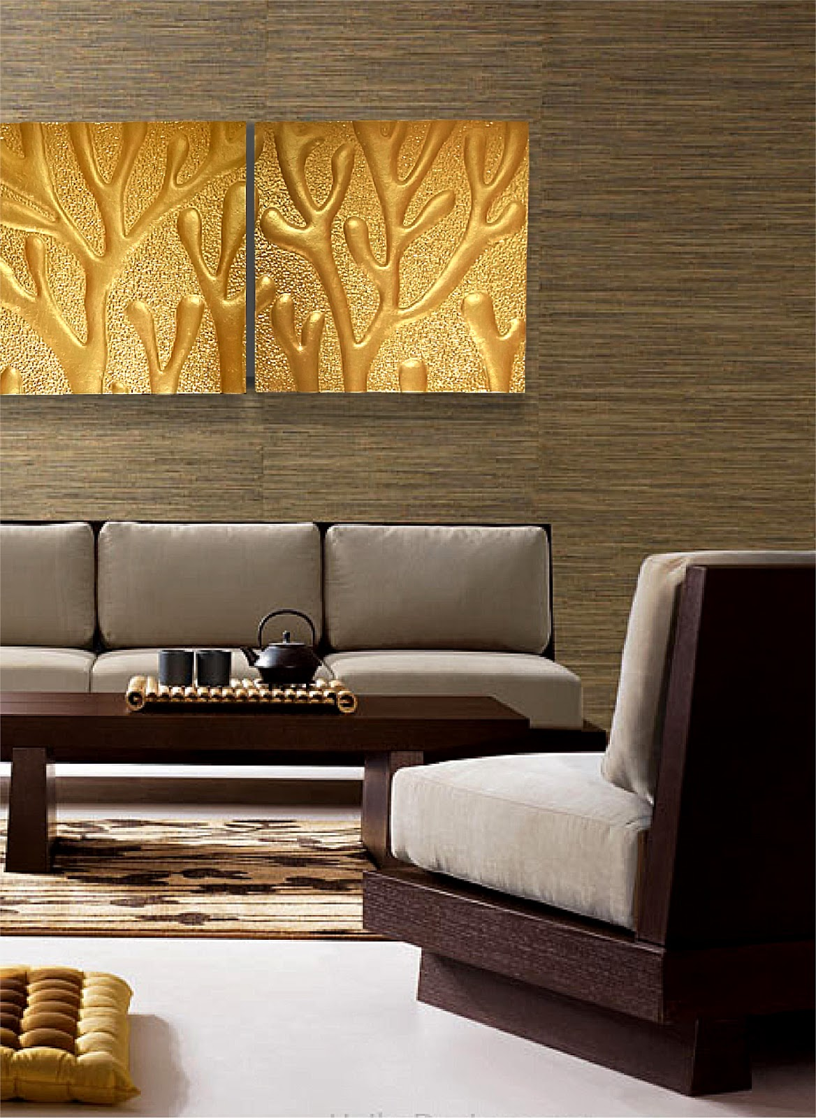 Living Room Wall Panel Design: Singapore's Latest Trend For Wall Decoration