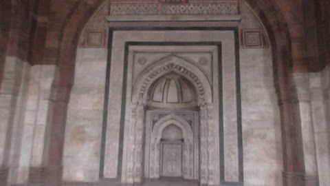 Art Work Old Fort Delhi India 932