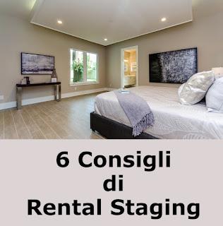 6 Consigli di Rental Staging, l'Home Staging Per Case In Affitto