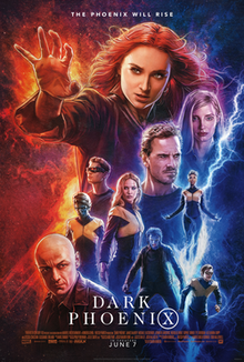 X-Men Dark Phoenix 2019 Dual Audio 720p HC HDTS 900Mb