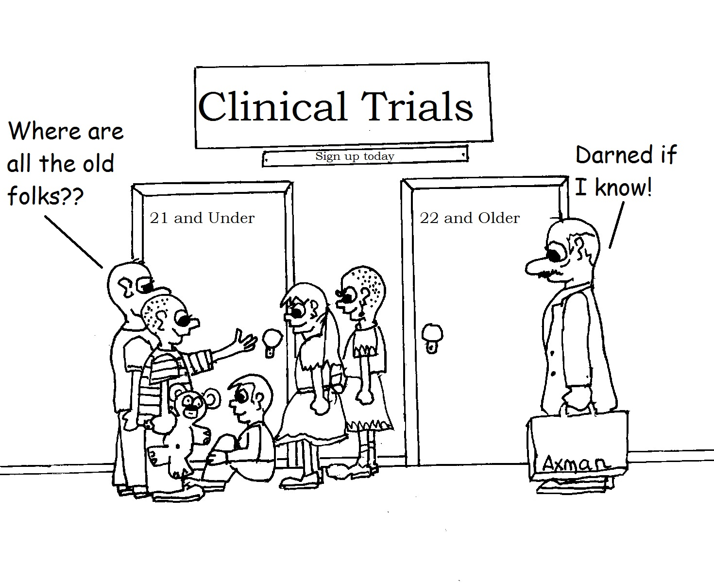 Cancer Clinical Trials: Clinical Trials in Cartoons