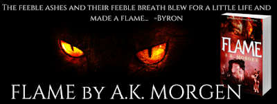 Now Available! Flame (The Ragnarök Prophesies, #3) by A.K. Morgen 3