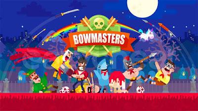 لعبة Bowmasters للأندرويد، لعبة Bowmasters مدفوعة للأندرويد