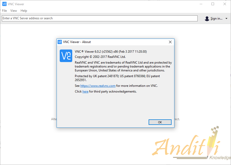 Update VNC Viewer v6 0 2 ~ Anditii