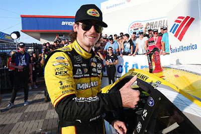"""We put ourselves in a spot to be there,"" commented Blaney in Victory Lane."