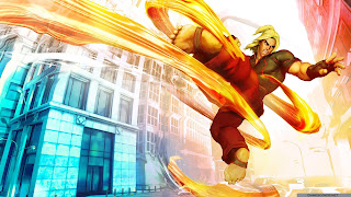 Street Fighter V Cool Desktop Wallpaper 2560x1440