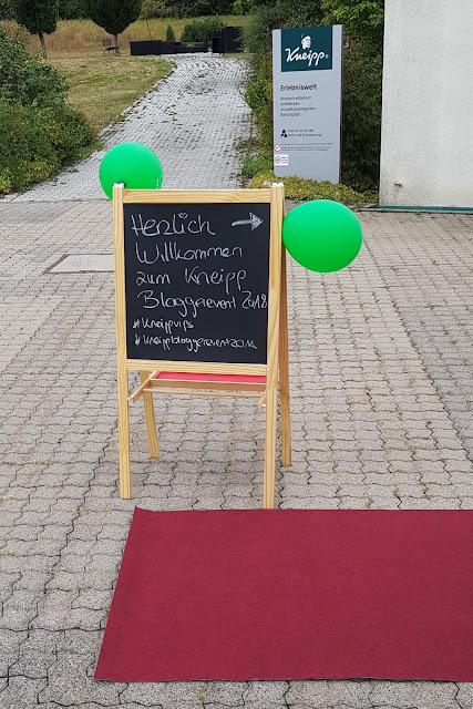Kneipp VIP-Autoren Bloggerevent