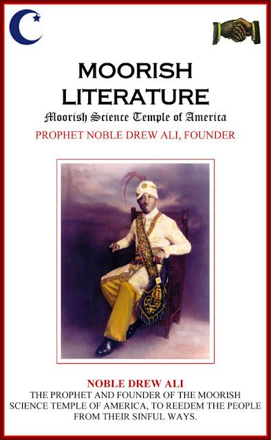 noble drew ali caveat emptor moorish literature
