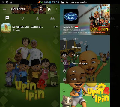 BBM Mod Upin & Ipin v2.13.1.14 APK