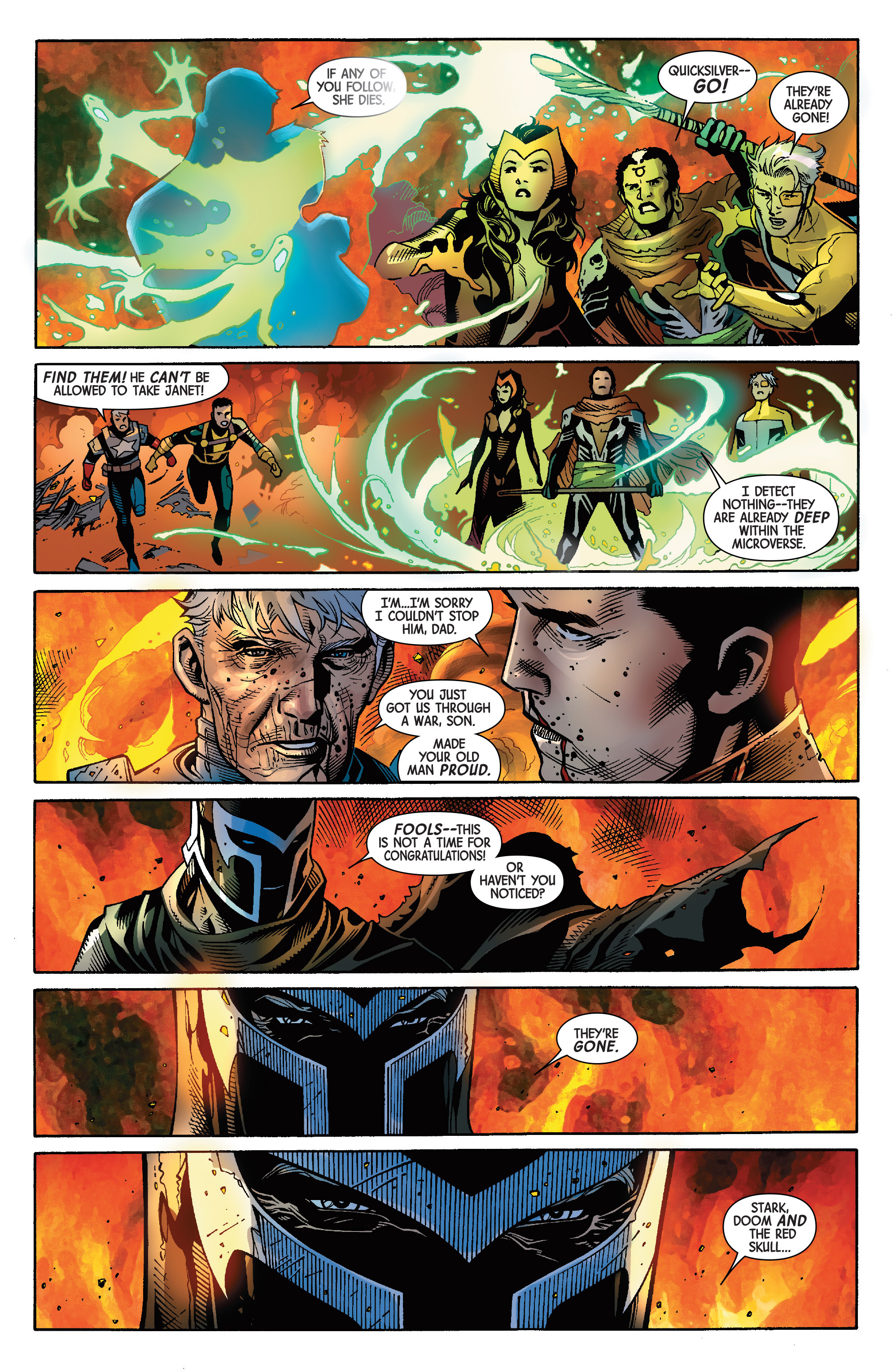 Read online Avengers & X-Men: AXIS comic -  Issue #9 - 34