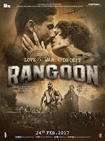 Rangoon 2017 Hindi 720p DVDRip Full Movie Download With ESubs