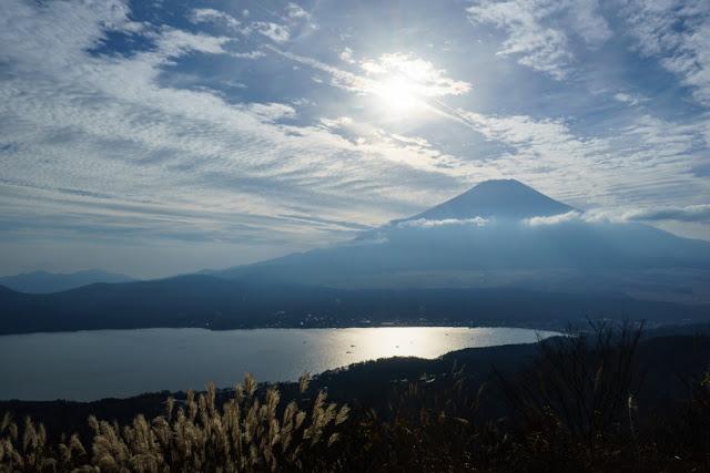 大平山山頂(1296m)からの景色