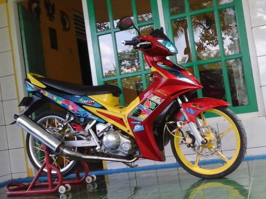 Download Kumpulan 84 Modifikasi Motor Jupiter Mx Thailook