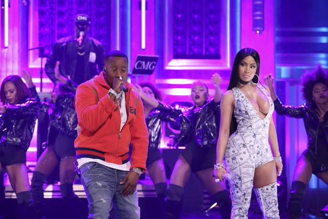 WATCH: Yo Gotti & Nicki Minaj perform 'Rake It Up'