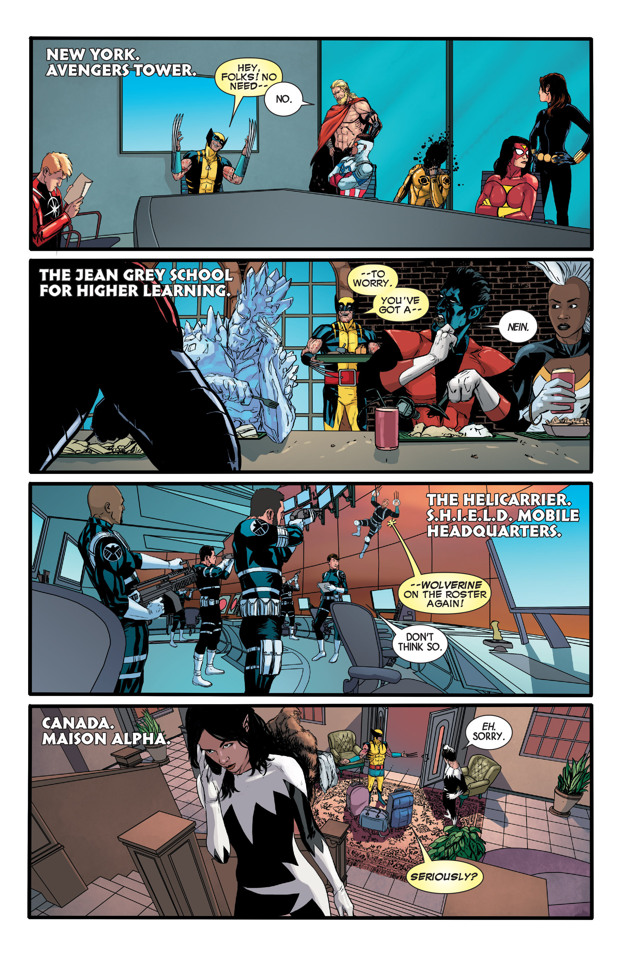Read online Wolverines comic -  Issue #13 - 15