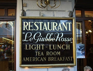 The Giubbe Rosse has been serving customers in Florence's Piazza della Repubblica since 1896