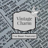 Vintage Charm Party 5 mythriftstoreaddiction.blogspot.com Feature button