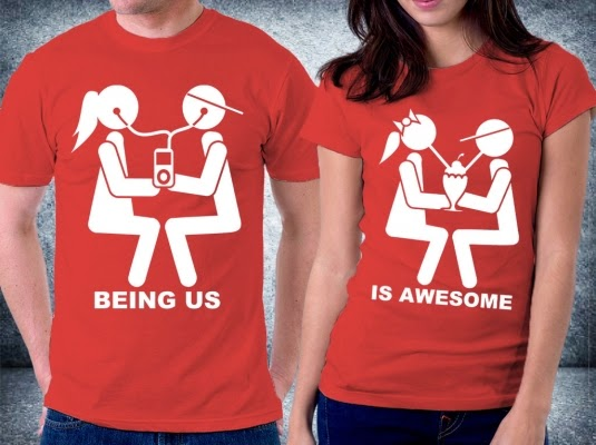 Jual Kaos Couple Keluarga: KOLEKSI KAOS COUPLE VALENTINE 2015