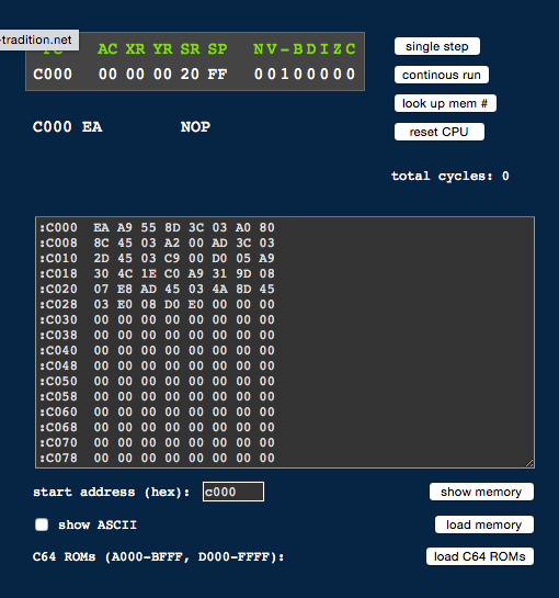 Technologically Induced Coma: Understanding 6502 assembly on
