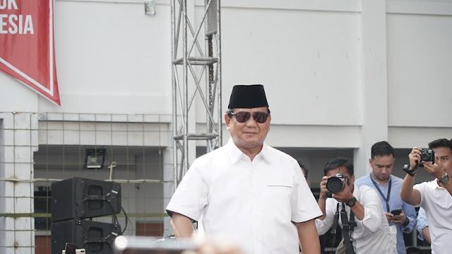 Prabowo Mau Kejar Koruptor sampai Padang Pasir Paling Jauh