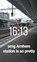 Foto am Bahnhof Arnhem