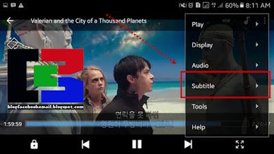 cara menampilkan subtitle di video pada hp android