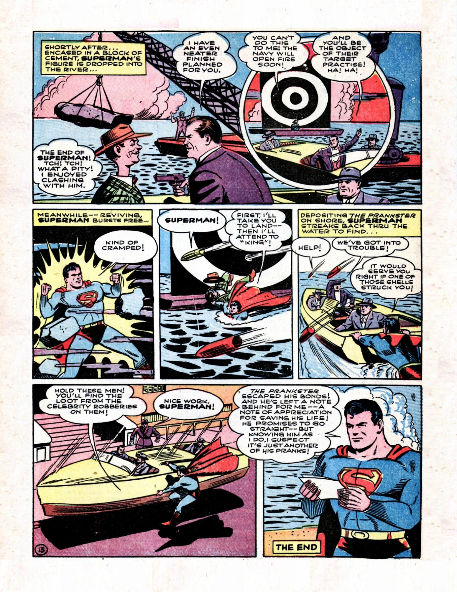 Read online Action Comics (1938) comic -  Issue #57 - 15